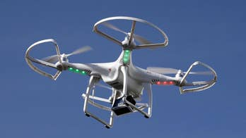 Lea Gabrielle reports on dangerous situations created by drones.