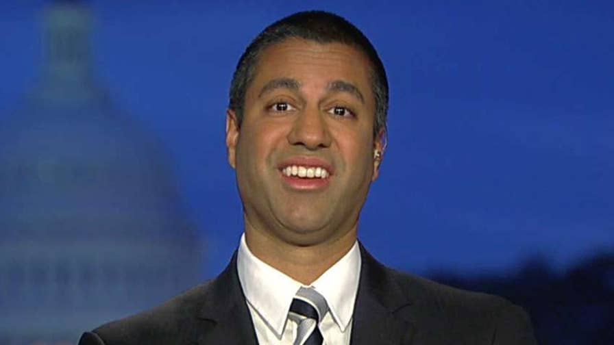 Ajit Pai, working hard for the telecoms