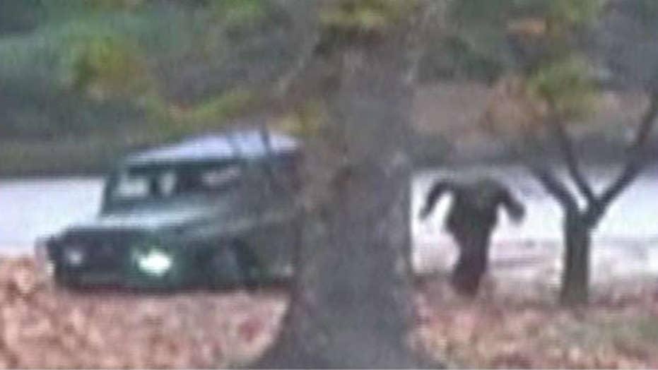 Dramatic video shows North Korean soldier's daring escape