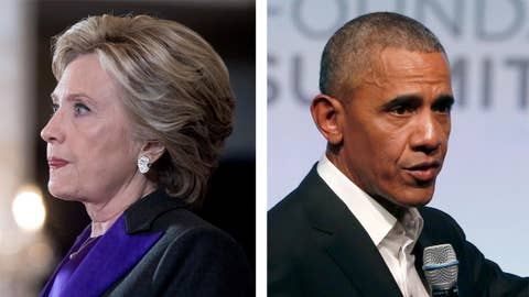 Now Hillary blames Obama for 2016 election loss