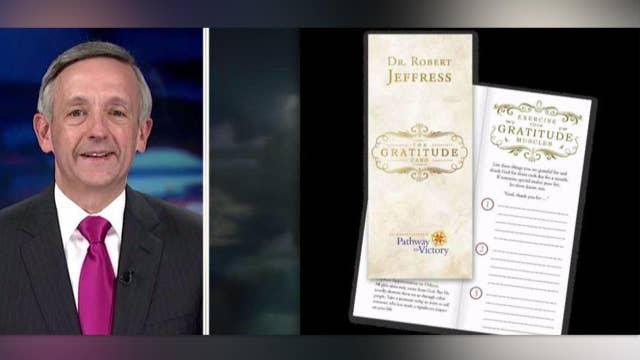 Pastor Robert Jeffress shares a Thanksgiving message