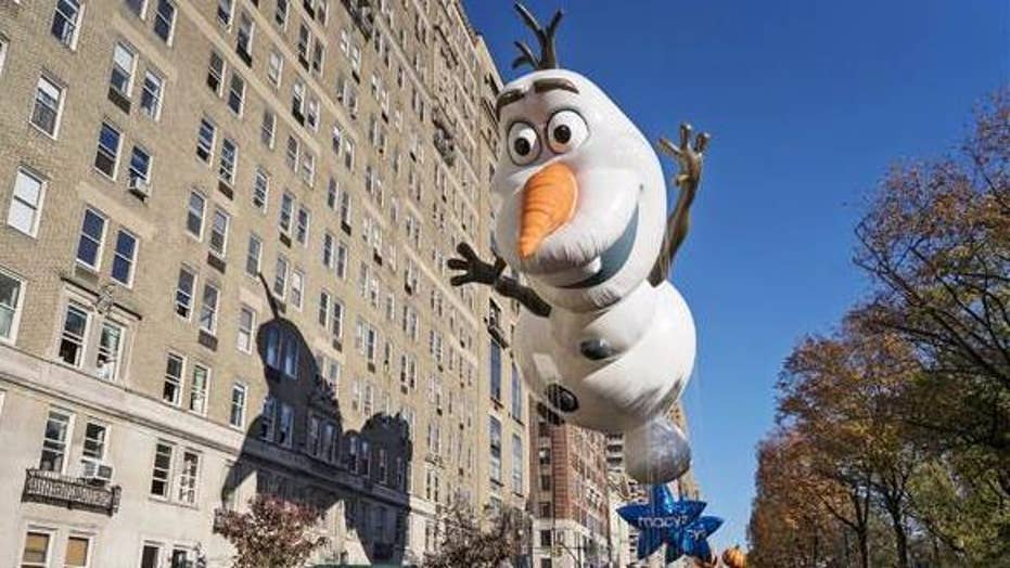 NYC hosts Thanksgiving parade weeks after Halloween attack