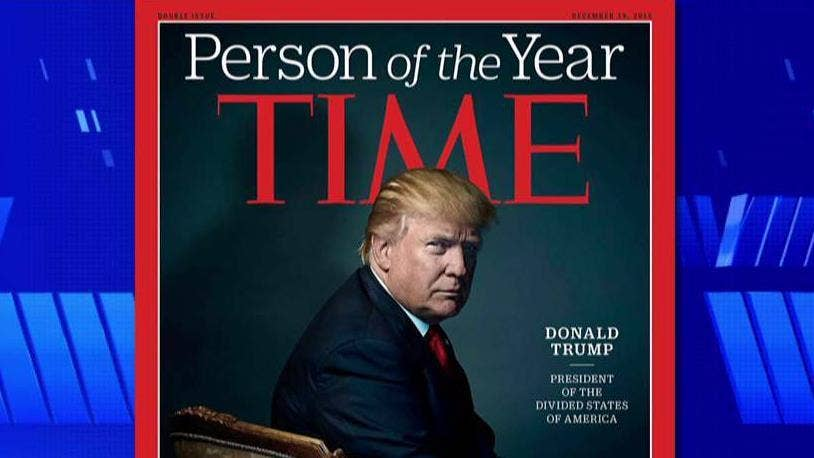 Trump says he passed on being TIME's 'Person of the Year'