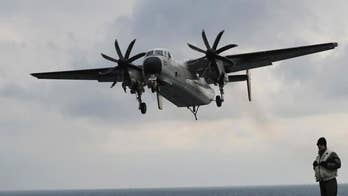 U.S. Navy calls off search for three sailors missing in Philippine Sea; Harry Kazianis, director of defense studies at the Center for the National Interest, reacts to rise in the number of military plane crashes in non-combat zones.