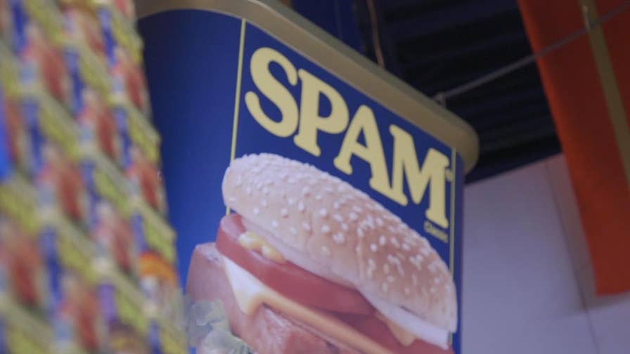 You can grill it, fry it, or eat it right out of the can: Spam. For over 80 years the salty canned meat has been feeding America. From its start in a small Minnesota town to its global presence today, here's the origins of Spam's flavorful history.