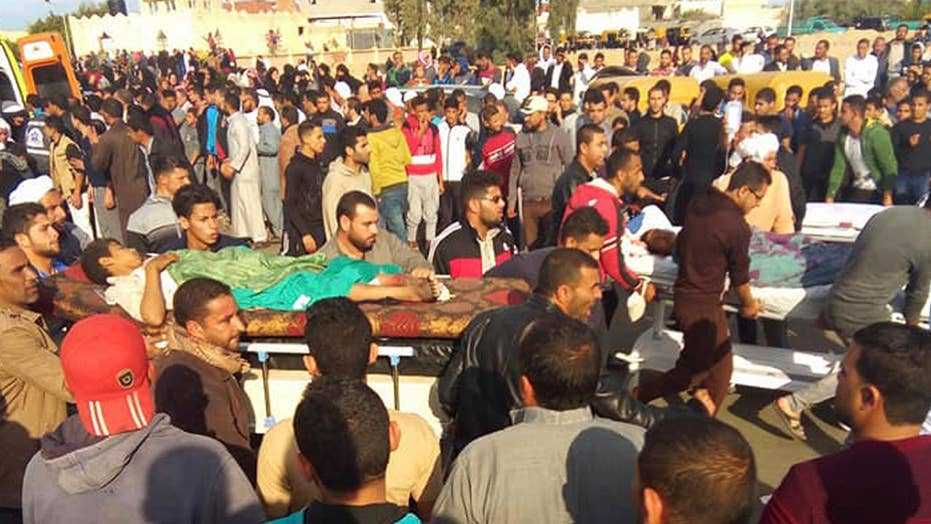 Terror in Egypt: Hundreds killed in Sinai mosque attack