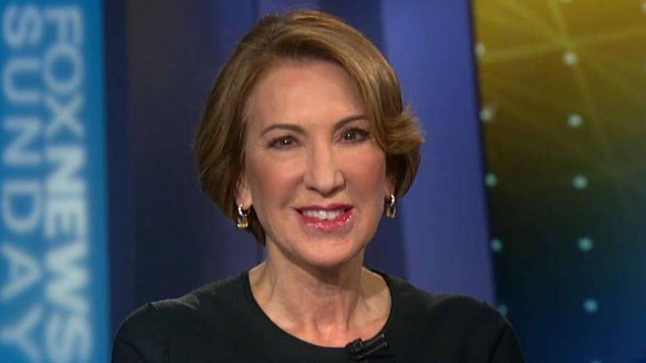 Carly Fiorina on sexual harassment claims rocking Washington