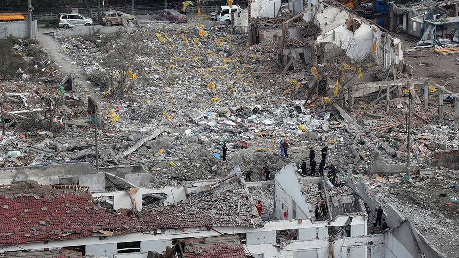 At least two dead after explosion in Chinese port city
