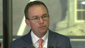 Mick Mulvaney speaks amid battle over leadership at Consumer Financial Protection Bureau.