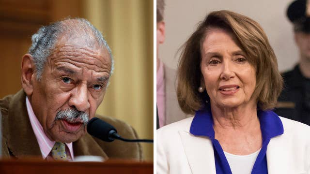 Pelosi surprises voters with her defense of Conyers