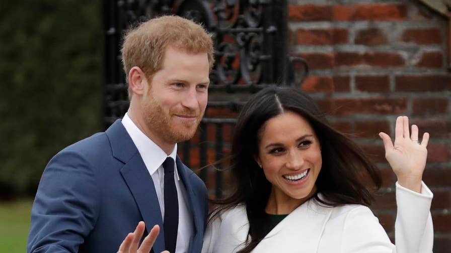 Prince Harry, Meghan Markle make their first appearance since their engagement.