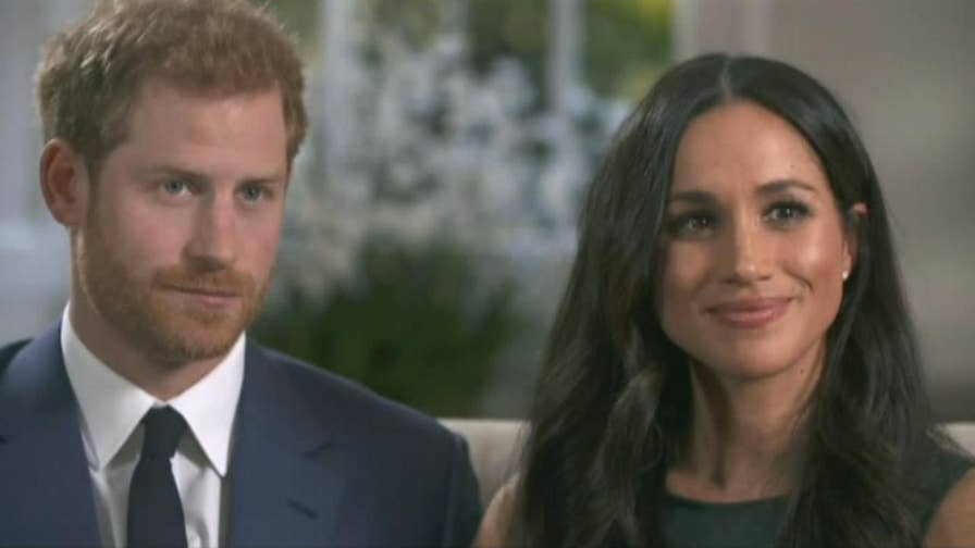Newly minted couple describe reception by the Queen, significance of engagement ring.