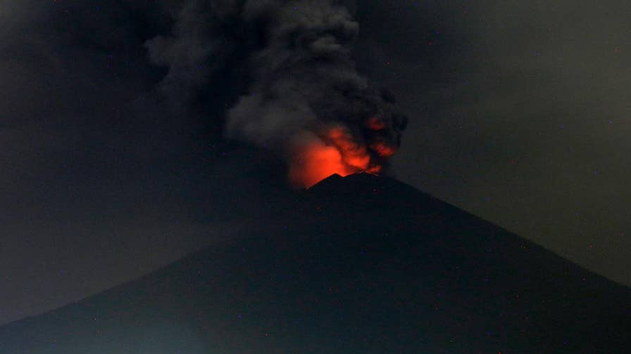 As Mount Agung continues to erupt, Indonesian authorities expanded the established danger zone to six miles, and closed the airport leaving travelers stranded as ash reaches Indonesian airspace.