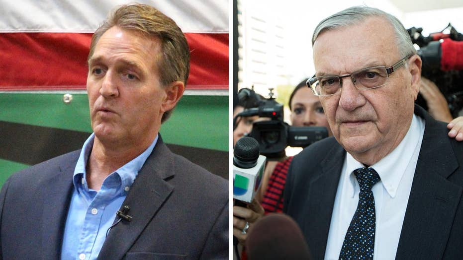 Senator Flake's son files lawsuit against Joe Arpaio