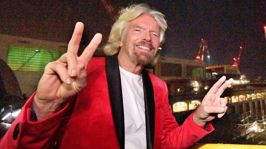 Richard Branson accused of sexual harassment by singer