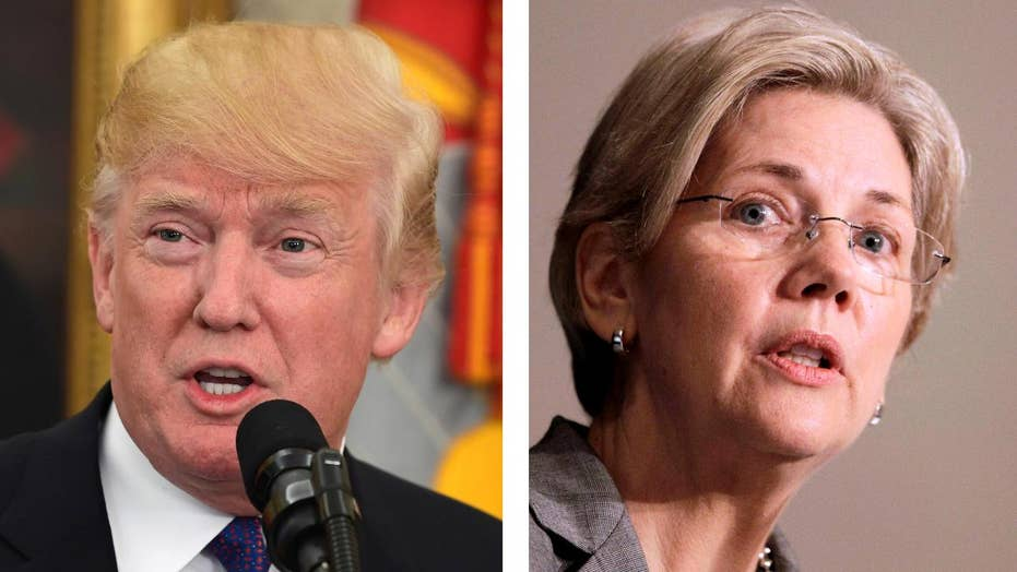 Trump jabs at Sen. Warren while honoring Native Americans