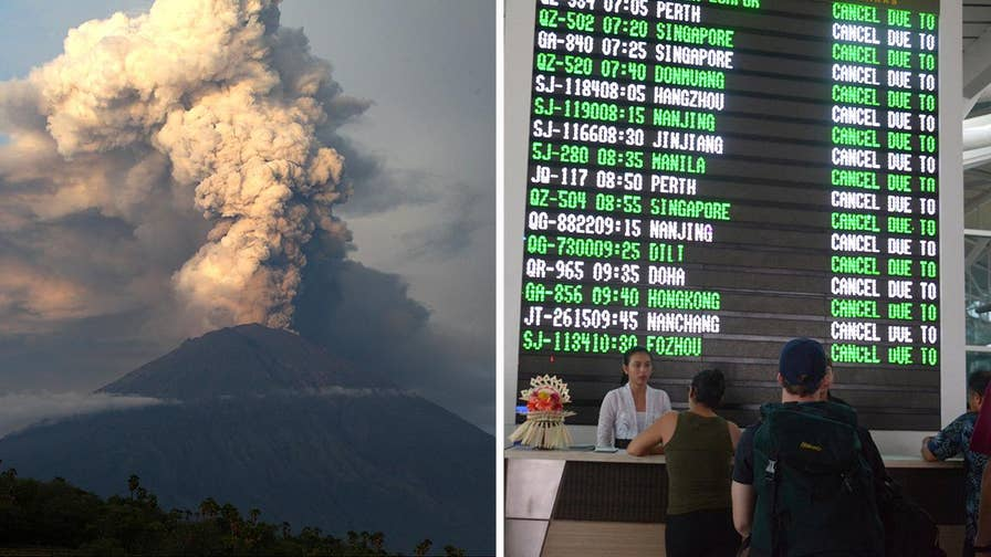 Scientists fear repeat of deadly 1963 eruption; Greg Paklot reports as thousands attempt to flee the island.