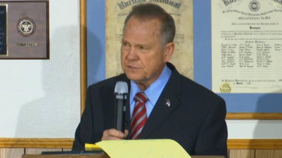 Roy Moore: Republicans and Democrats have both opposed me
