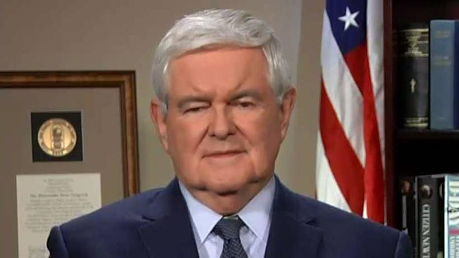 Gingrich: The president has a lot to crow about