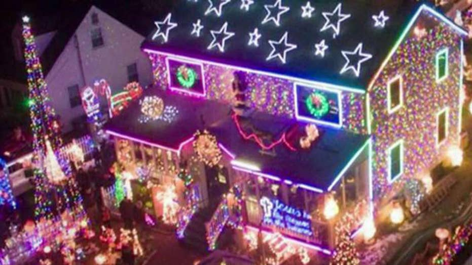 complaints over charity christmas lights