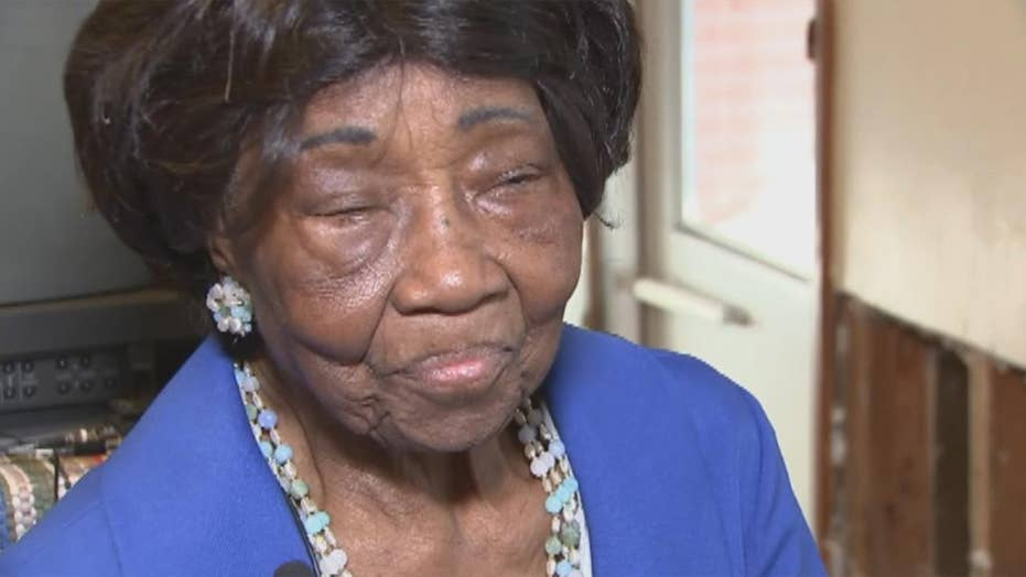 98-year-old's home in desperate need of repairs after Harvey