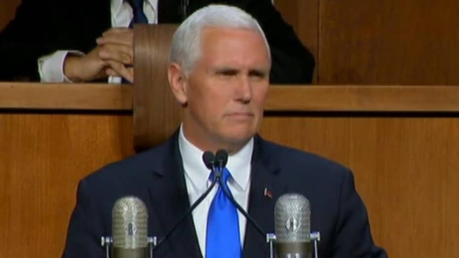 Pence: 'America will always stand with Israel'