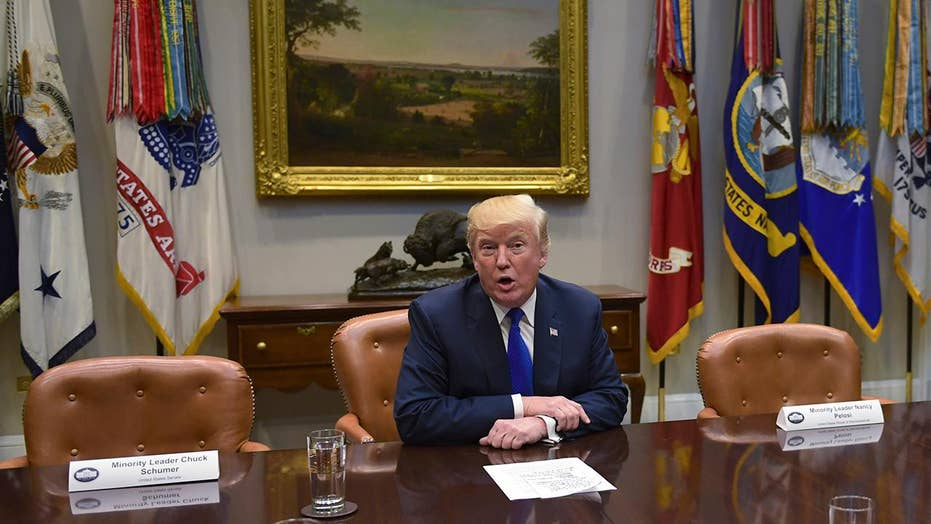 Schumer, Pelosi back out of a White House meeting with Trump