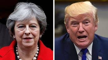 Trump fires back at Theresa May over retweets of Muslim attack videos