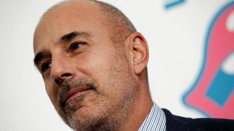Matt lauer fired from 39 today 39 due to 39 inappropriate sexual - Matt today show ...
