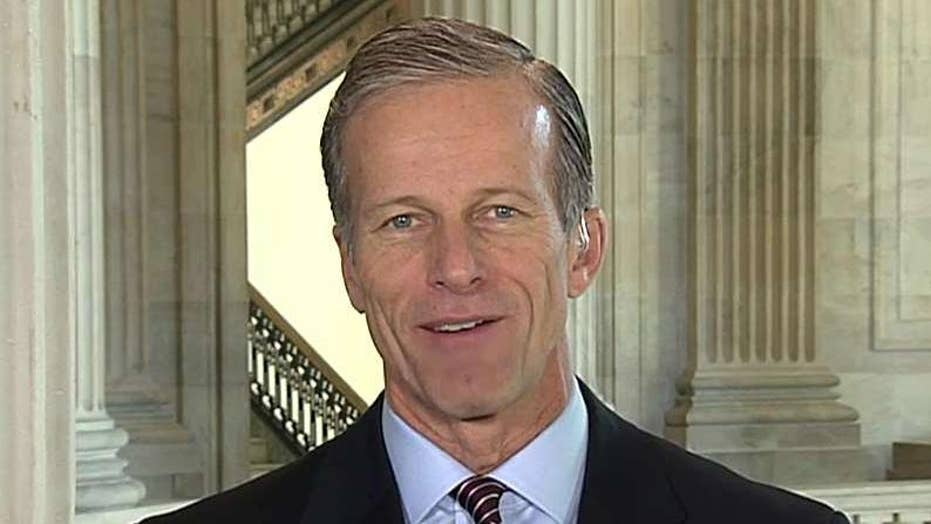 Sen. Thune: 'I'm pretty optimistic' about tax reform