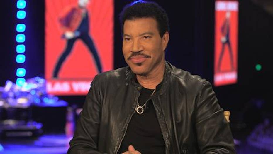 Lionel Richie credits God, family for his enduring success