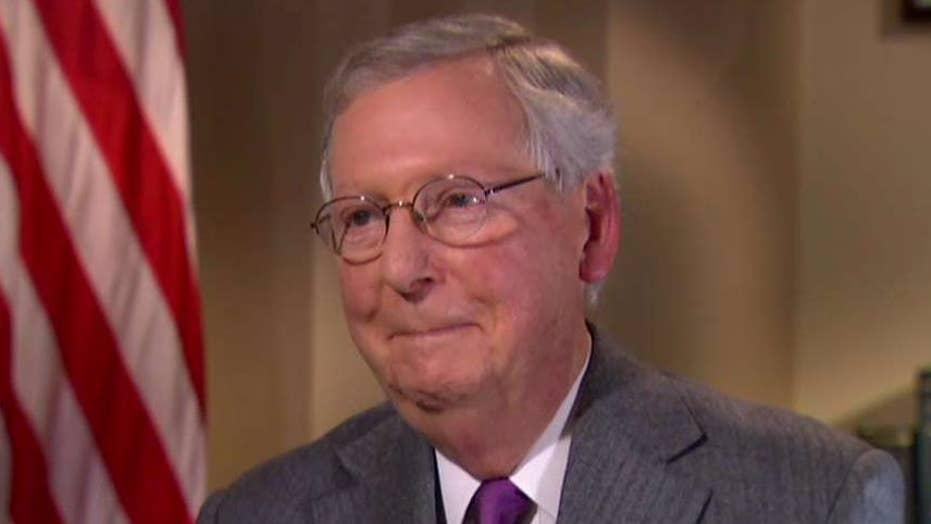 Sen. McConnell talks Trump's mental health, DACA legislation