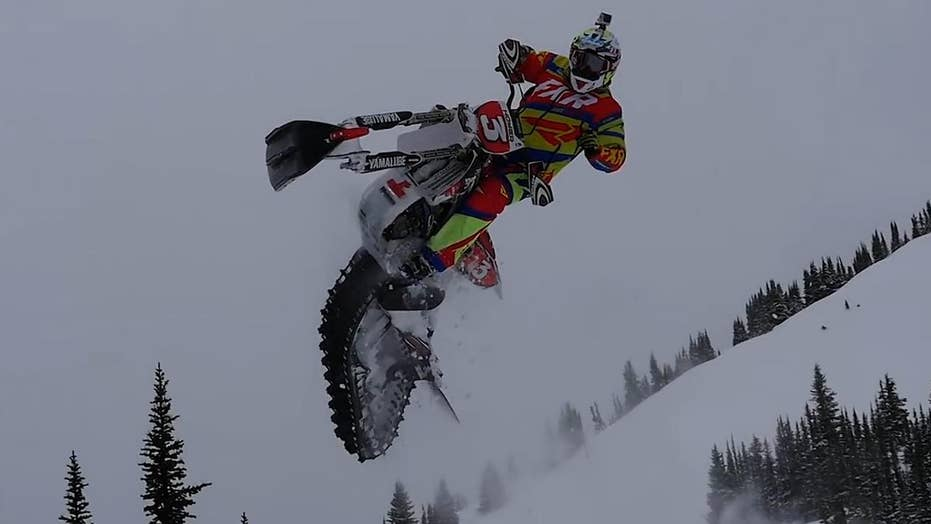 Tech transforms motorcycles into Special Ops snow bikes