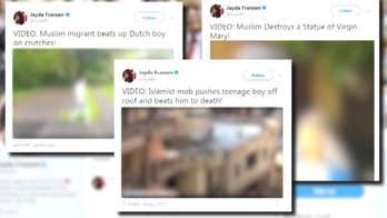 General H.R. McMaster discusses President Trump tweeting anti-Muslim videos.