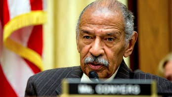Attorney says Rep. Conyers, not Washington, will decide when he will step down; Matt Finn reports from Detroit.