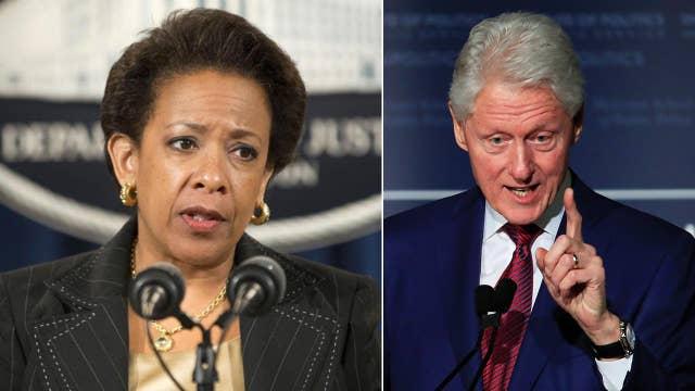 Clinton-Lynch tarmac meeting triggered FBI hunt for leaker