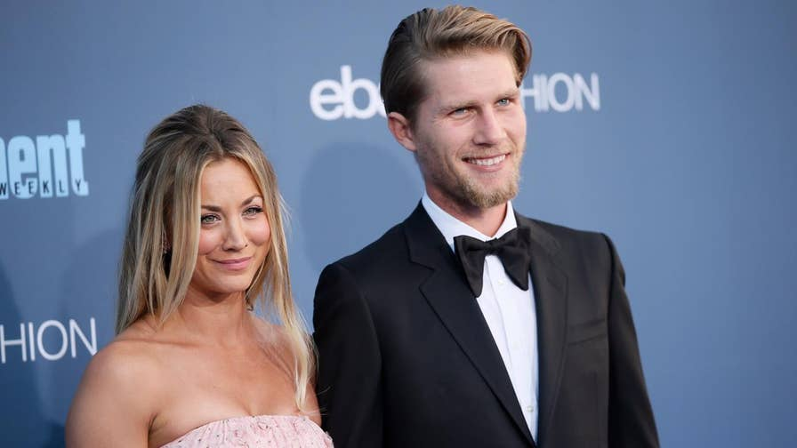 Fox411: 'Big Bang Theory' star Kaley Cuoco's boyfriend Karl Cook popped the question on her 32nd birthday, posting a video to Instagram showing Cuoco's reaction to his proposal.