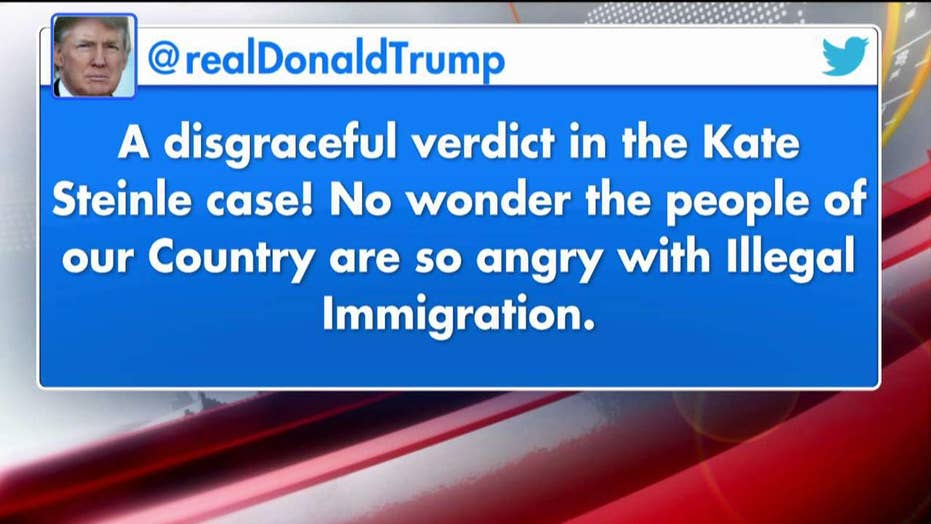 President Trump weighs in on Kate Steinle verdict