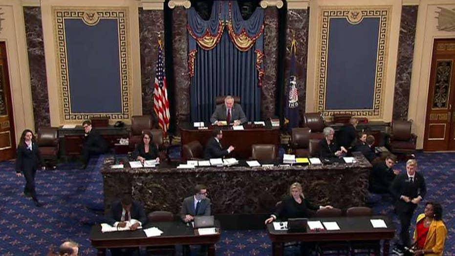 Senate on the brink of landmark tax vote