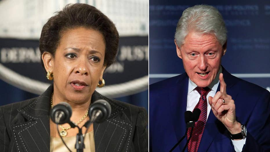 Clinton-Lynch tarmac meeting triggered FBI hunt for leaker