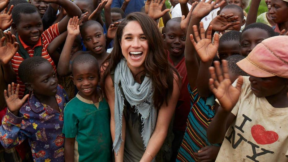 Meghan Markle's humanitarian work before royal romance