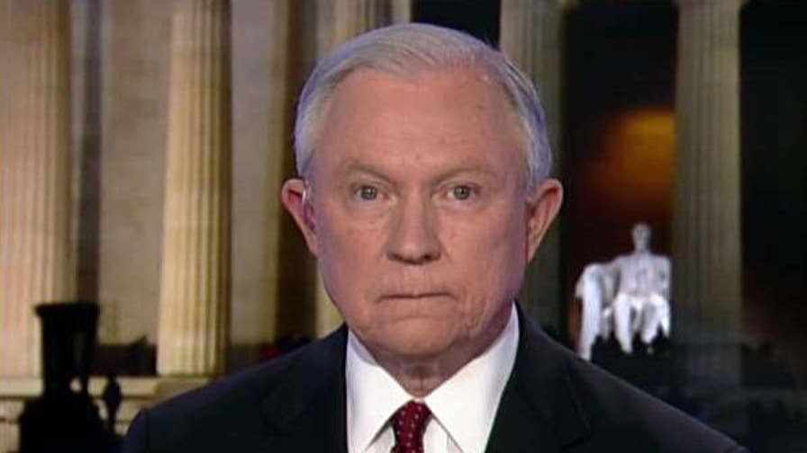 Exclusive: Attorney General Jeff Sessions sounds off on the shocking not guilty verdict in the Kate Steinle murder trial. Plus, Sessions comments on Mike Flynn's plea. #Tucker