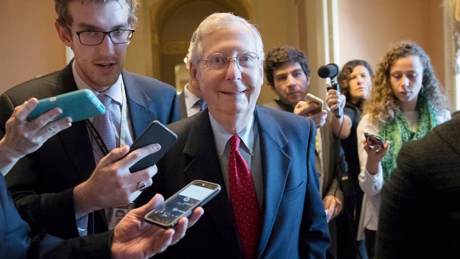 Senate passes sweeping tax reform package.