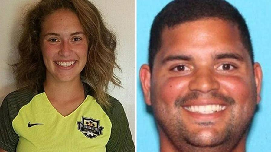 Authorities say the girl was found in high school soccer coach's car.