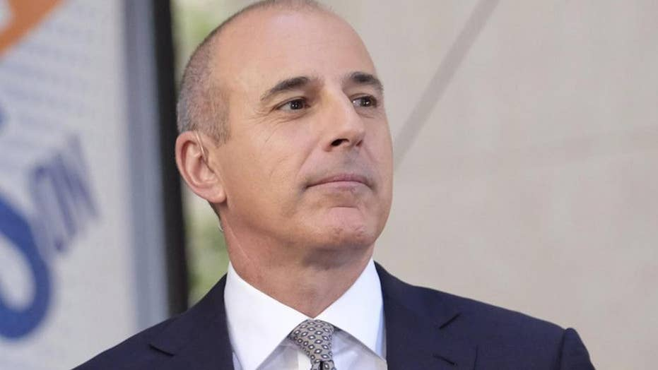 NBC's damage control on Lauer
