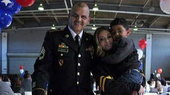 Campaign to reunite soldiers with loved ones this holiday season.