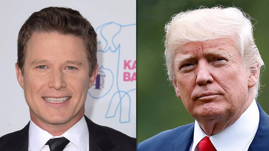 Former NBC host Billy Bush pens an op-ed in 'The New York Times' criticizing Donald Trump for questioning the legitimacy of the Access Hollywood footage where the then-Apprentice host bragged about sexually assaulting women.
