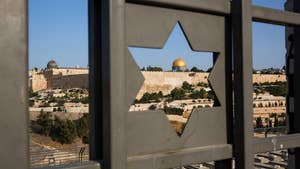 Middle East leaders, French President Macron counsel President Trump against officially recognizing Jerusalem as Israel's capital; chief White House correspondent John Roberts reports.