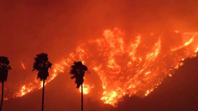 Massive wildfire explodes, turns deadly in California