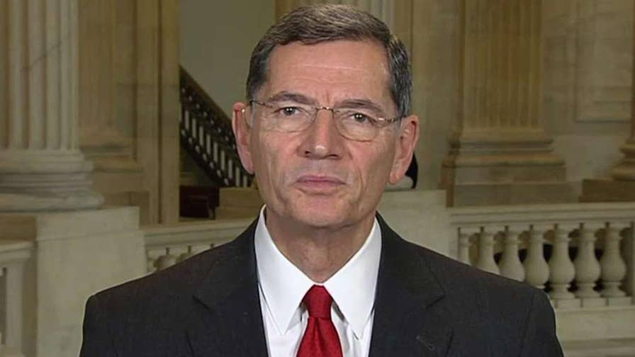 Sen. Barrasso reacts on 'America's Newsroom' to the spending debate amid tax reform negotiations.